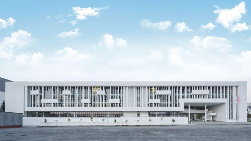 Mezitli Belediyesi Hizmet Binası